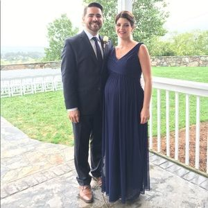 Formal maternity gown
